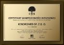 Certyfikat Wiarygodności Gospodarczej 2011 PL