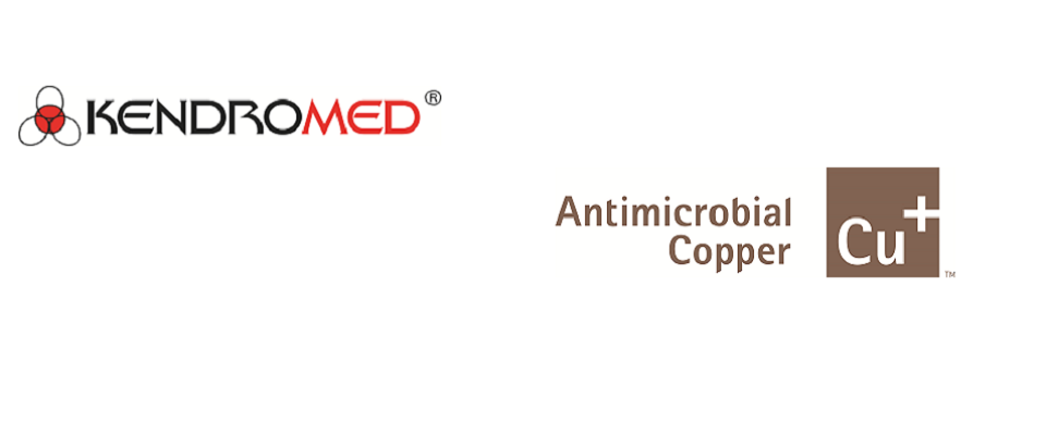 Kendromedis a certified manufacturer of antimicrobial copper